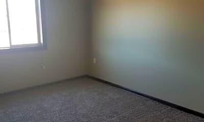Bedroom, Keller Twinhomes, 1