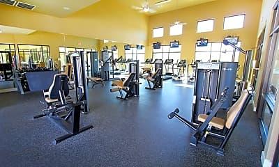 Fitness Weight Room, Crest Round Rock, 1