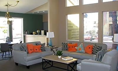 Living Room, Cobblestone Apartments, 1