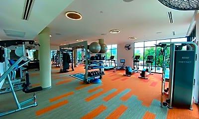 Fitness Weight Room, 1777 Peachtree St NE 806, 2