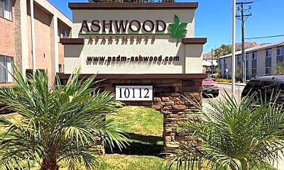 Community Signage, Ashwood Apartments, 1