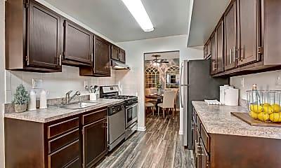Kitchen, The Gateway Apartments, 1