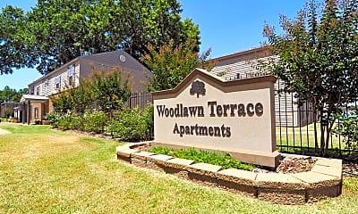 Community Signage, Woodlawn Terrace Apartments - LA, 2