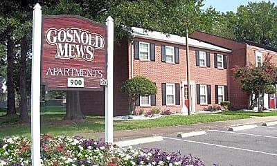 Community Signage, Gosnold Mews, 0