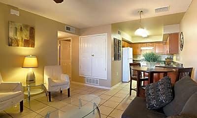 Living Room, Patriot Palms, 1