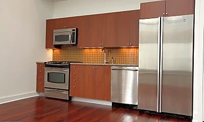 Kitchen, 1101 Locust St 2D, 2