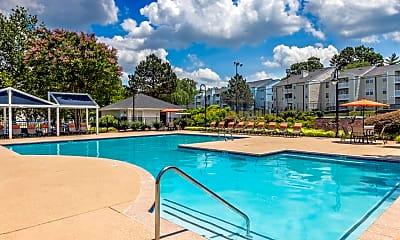 Pool, Colonial Village At Chase Gayton, 1