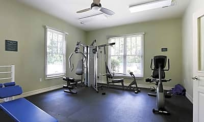 Fitness Weight Room, Brookside Crossing, 2