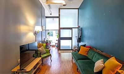 Living Room, 25 Bank St 1, 1