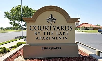 Community Signage, Courtyards by the Lakes, 2