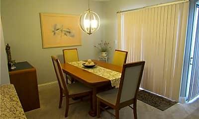 Dining Room, 1412 Park Shore Cir 4, 1