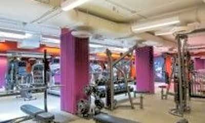 Fitness Weight Room, 1011 M St NW, 2