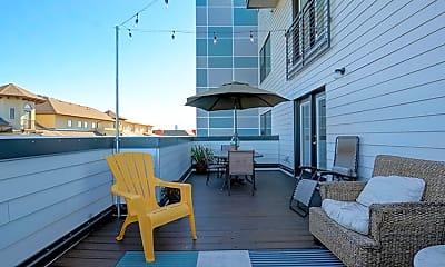 Patio / Deck, The Corner - PER BED LEASE, 1