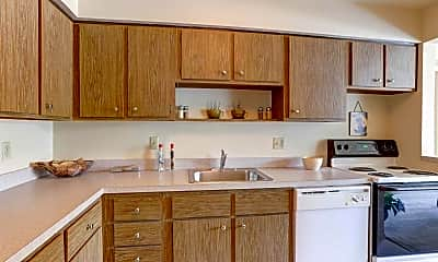 Kitchen, Kimberly Park Apartments, 1