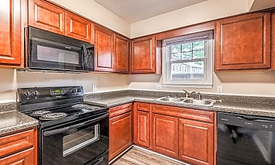 Kitchen, Concord Reserve Apartments, 1