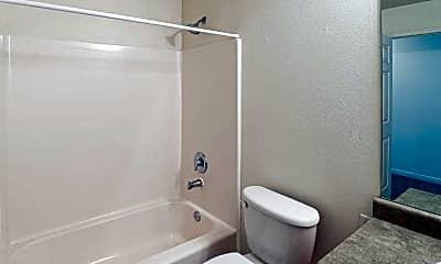 Bathroom, Brookfield Apartments, 2