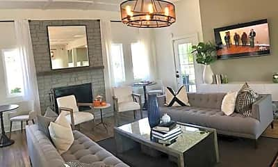Living Room, Cedar Pointe Apartments, 0