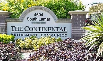Community Signage, The Continental Senior Living, 0