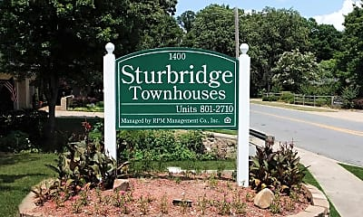 Community Signage, Sturbridge, 2