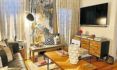 Living Room, 11 Hague St, 1