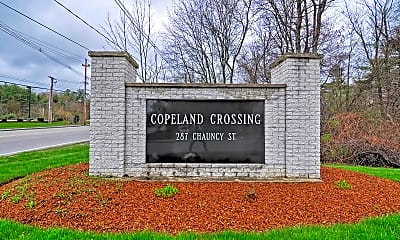 Community Signage, Copeland Crossing Apartments, 1