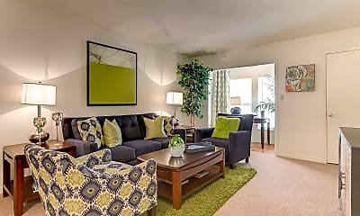 Living Room, Fox Run Apartment Homes, 1