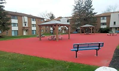 Playground, Columbia Square Apartments, 2