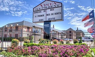 Community Signage, Vista on Gessner, 2