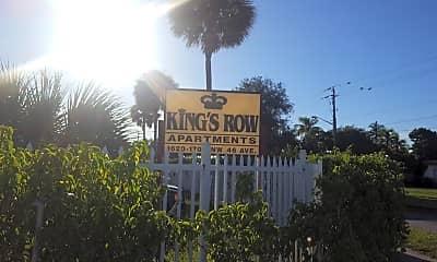 Kings Row Apartments, 1