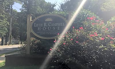 Lillie R Campbell House Senior Property, 1