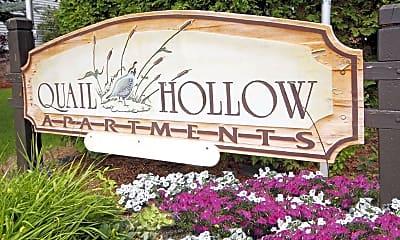 Community Signage, Quail Hollow Apartments, 0