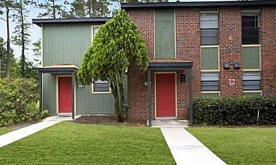 Building, Barrington Apartments, 1