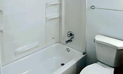 Bathroom, Fox Run Apartments, 2