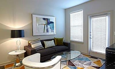 Living Room, Parkway Flats, 1