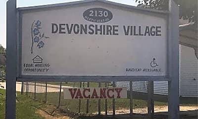 Devonshire Apartments, 1