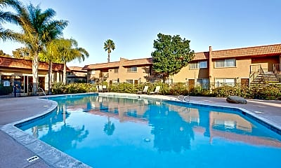 Pool, Rosewood Apartments, 0