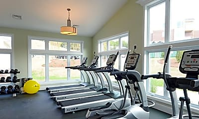 Fitness Weight Room, Highland Hills Carriage Homes, 2