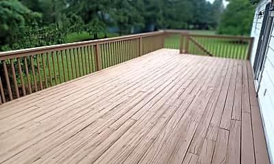 Patio / Deck, 1525 Yardley Newtown Rd REAR, 2