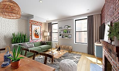 Living Room, 136 W 123rd St 4, 0
