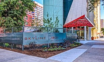 Courtyard, Skyline 1801, 0
