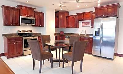 Kitchen, Gallery 515 Luxury Apartments @ The Millennium Center, 2