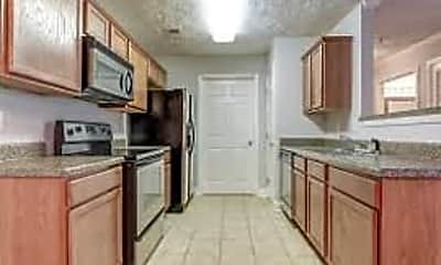 Kitchen, Woodland Village, 2