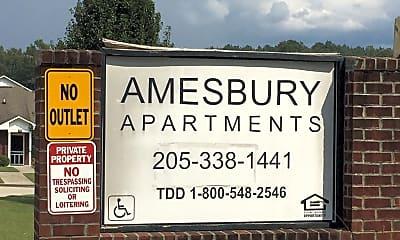 Amesbury Apartments, 1