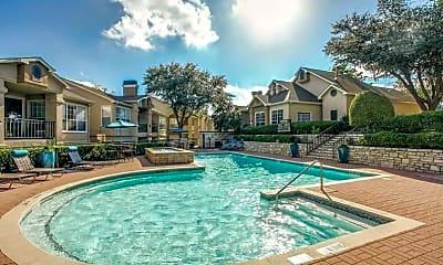 Pool, Avalon at Chase Oaks, 2
