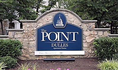 Community Signage, The Point at Dulles, 2