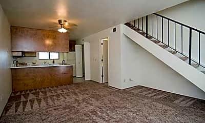 Living Room, Hillcrest Court, 0