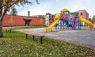 Playground, Garfield School, 2