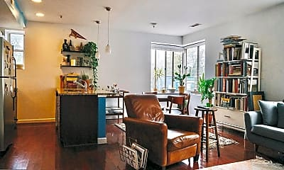 Living Room, 5401 9th St NW 201, 2