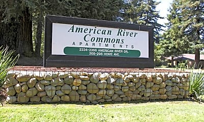 Community Signage, American River Commons, 2