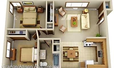 Bedroom, 2940 E Allison Ave, 2